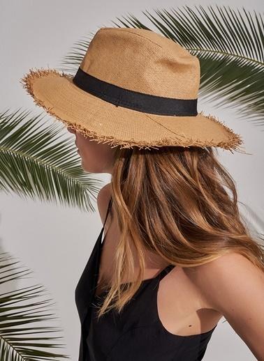 Morhipo Beach Püskül Detaylı Şapka Camel